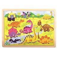 Bino Puzzle - Dinoszauruszok - Puzzle