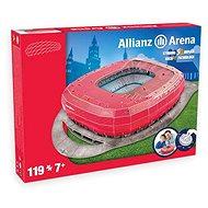 3D Puzzle Nanostad Németország - Allianz Arena futballstadion Bayern München - Puzzle