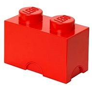 LEGO tárolódoboz, 125 x 250 x 180 mm - piros - Tároló doboz