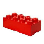 LEGO tároló doboz 250 x 500 x 180 mm - piros - Tárolódoboz