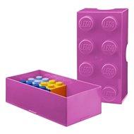 LEGO Box uzsonnás doboz 100 x 200 x 75 mm - rózsaszín - Uzsonnás doboz
