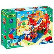 Wader - 3 szintes garázs 3 méteres pályával - Építőjáték