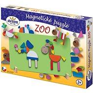 Fajáték - Mágneses puzzle ZOO - Puzzle