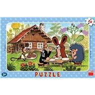 Kisvakond látogatóban kirakó - Puzzle