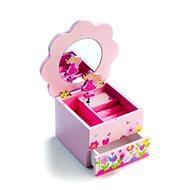 Ékszerdoboz - Virágos játékszekrény - Játékszett