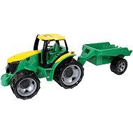 Lena műanyag traktor pótkocsival - Játékautó