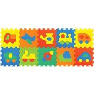 Habszivacs puzzle Játszószőnyeg - Járművek - Habszivacs puzzle