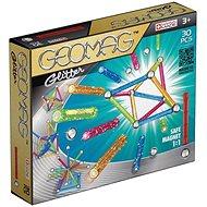 Geomag - Glitter 30 db-os - Mágneses építőjáték