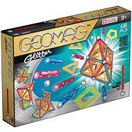 Geomag - Glitter 68 darabos - Mágneses építő
