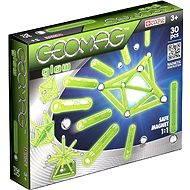Geomag - Színes Glow 30 db - Mágneses építőjáték