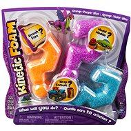 Kinetikus hab - Multi csomag (narancssárga, lila, kék) - Gyurma