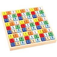 Készségfejlesztő játék Színes fa sudoku - Didaktická hračka