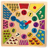 Játék szett Oktató jellegű puzzle játék - Ismerje meg az órát - Herní set