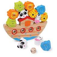 Noé bárkája egyensúlyozó fajáték - Kreatív játék