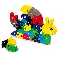 Összerakós puzzle - Csiga - Készségfejlesztő játék