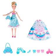 Disney Hercegnők - Hamupipőke baba tartalék ruhákkal - Baba