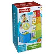 Készségfejlesztő játék Fisher Price - Állatkás torony  - Didaktická hračka