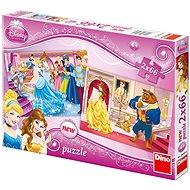 Dino Hercegnők - Hamupipőke, Belle - Puzzle