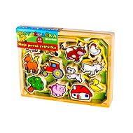 Fa játék - Az első állataim 12 db-os - Készségfejlesztő játék