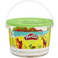 Play-Doh - Mini vödör állatokkal, tégelyekkel és formákkal - Kreatív szett