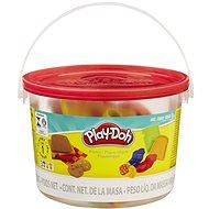 Play-Doh - Mini vödör piknikre tégelyekkel és formácskákkal - Kreatív szett