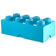 LEGO tárolódoboz 250 x 500 x 180 mm - azúrkék - Tárolódoboz