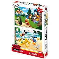 DINO Puzzle - Mickey egér és a sport - Puzzle