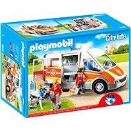 Playmobil - Jön a segítség! Mentőautó 6685 - Építőjáték