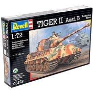 Revell Model Kit Tiger 03129 tank - II Ausf. B - Műanyag modell