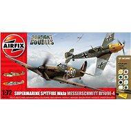 AirFix A50135 Repülő Ajándék Készlet - Supermarine Spitfire MkIa vs Messerschmitt Bf109E-4 - Modell