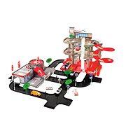 Három szintes garázs autószervizzel - Játékszett
