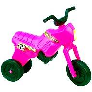 Enduro Yupee lábbal hajtós motor, nagy, rózsaszín - Futóbicikli