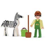 Igracek - Állatgondozó és zebra