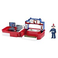 Igracek Handy - Tűzoltó tűzoltóállomással - Játékszett