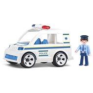 Igráček Handy - Rendőrségi autó rendőrrel - Játék szett