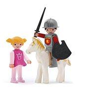 Igráček Trio - Princess, Knight és a fehér ló - Játékszett