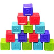 Ábécé kockák, 16db-os - Készségfejlesztő játék