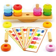 Építőjáték - egyensúlyozó fa - Készségfejlesztő játék