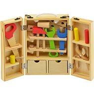 Eszközök fadobozban - Játékszett
