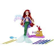 Disney Princess - Ariel baba extra hosszú hajjal - Baba