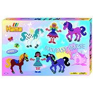 Gyöngyös szett midi - Csodálatos lovak - Kreatív szett