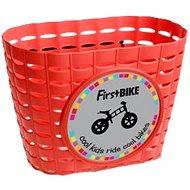 FirstBike kosár piros - Kerékpár kosár