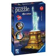 Ravensburger 3D 125968 Szabadság-szobor (Éjszaka) - 3D puzzle