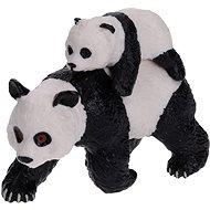 Atlas Panda pandakölyökkel - Figura