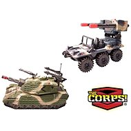 The CORPS! Páncélozott jármű - Játékautó