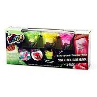 So Slime 3 pack - világít a sötétben - Kreatív szett