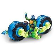Játék motorkerékpár, kék figurával - Játékautó