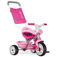 Smoby Be Move Confort tricikli, rózsaszín - Tricikli