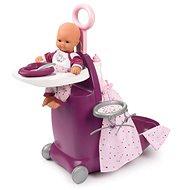 Smoby Baby Nurse Babacenter bőrönd 3 az 1-ben - Kiegészítők babákhoz
