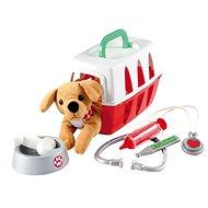 Ecoiffier Állatorvosnak kutyával - Bőrönd